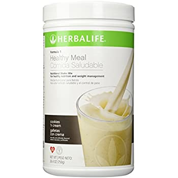 Amazon Com Herbalife Formula 1 Nutritional Shake Mix Cookies And