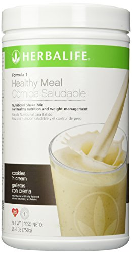 - Herbalife Formula 1 Nutritional Shake Mix, Cookies and Cream, 750g