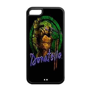 Christmas Gifts Hot Cartoon Teenage Mutant Ninja Turtles Hard Plastic Back Protective Case for Iphone 5C FC-5