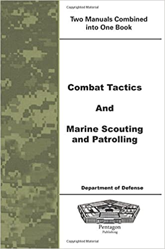 Book Combat Tactics and Marine Scouting and Patrolling