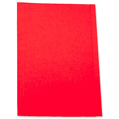 5 Star Office Square Cut Folder Recycled Pre-punched 250gsm Foolscap Buff [Pack 100] Spicers Ltd 297404