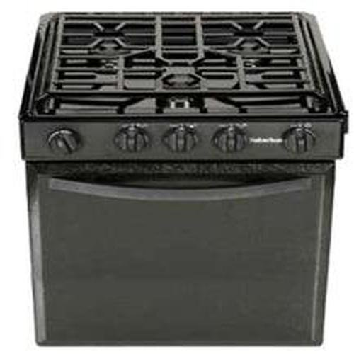 Suburban 3247A Gas Range with Sealed Burners – Porcelain Stainless Steel w/Spark Ignition, 22″
