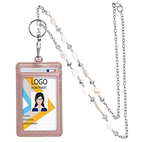 Leather Necklace lanyards Beautiful Breakaway product image