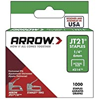 Arrow Fastener 091-214 Jt21 Type Staples by Arrow Fasteners