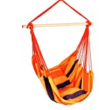 PATIO Chaise Lounge Chairs Clearance Summer Breeze Hammock Sale, Outdoor and Indoor, Hammock Mens And Womens, Family Lounge Polyester and Cotton Hammock & E-Book