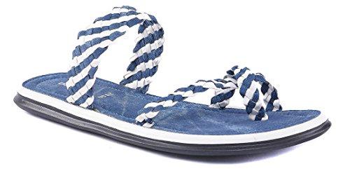 Dolphin Miles Women's Blue Fashion Sandals