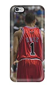 Hot sports nba basketball backview derrick rose depth of field chicago bulls NBA Sports & Colleges colorful iPhone 6 Plus cases