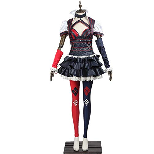 Arkham Knight Cosplay Harley Quinn Costume Adult Women