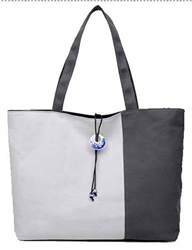 Aalardom Women Getaways Weekend Shoulder Bags Handbags, Tsmbh180706 Gray