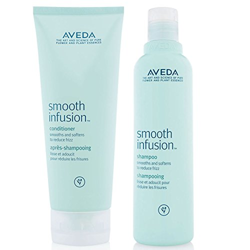 Aveda Smooth Infusion Shampoo 8.5 oz and Conditioner 6.7 oz