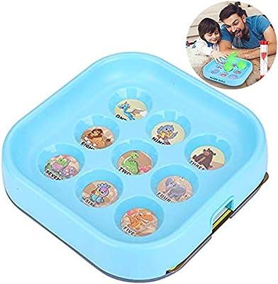 Blow Ball Game Toy,Juegos de Mesa, Juguete de Bolas de Golpe Interactivo para Padres e Hijos Juego de Mesa de Doble soplado Juego de Mesa de Escritorio para reg: Amazon.es: Hogar