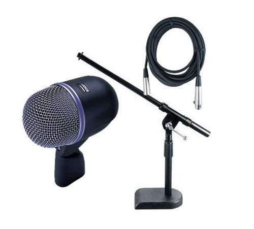 Loz Microphone Dynamic - Shure Beta 52A Cardioid Dynamic Microphone Package