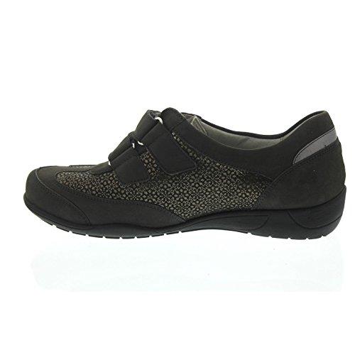 Waldläufer Women's Loafer Flats Grey bcV7CiN