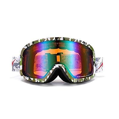 He-yanjing Ski Goggles ?Double Lens ?Snowboarding Goggle ? Anti-Fog Snow ?UV Protection ?Ski Goggles Men Women