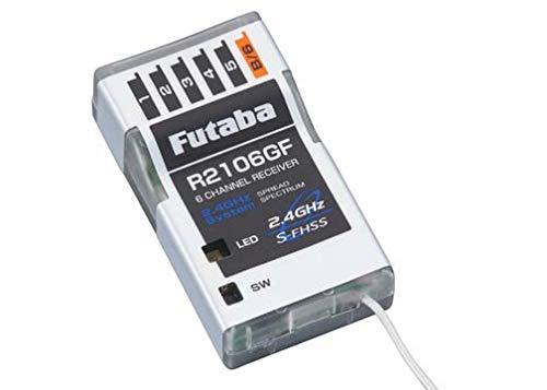 Futaba R2106GF 6-Channel S-FHSS Micro Receiver (Rx)