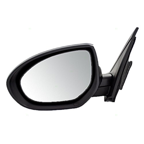 Drivers Power Side View Mirror Replacement for Mazda 3 Mazda3 BBM26918ZL MA1320162 AutoAndArt