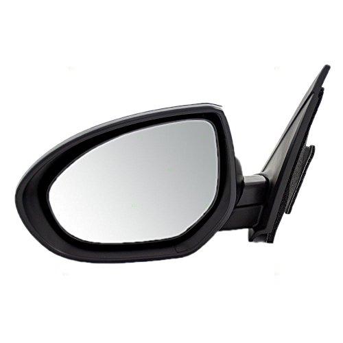 Drivers Power Side View Mirror Replacement for Mazda 3 Mazda3 BBM26918ZL MA1320162 AutoAndArt - Mazda Side Mirror