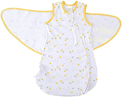 3 to 6 Months, Small Halo Sleep Baby Cotton Multi Triangle Print Swaddle