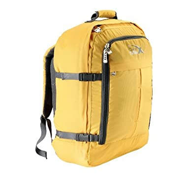 Cabin Max Metz Backpack Flight Approved Carry on Bag - 22x16x8  (Yellow)