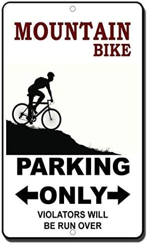 BridgetWhy50 - Señal de Seguridad para Bicicleta de montaña ...