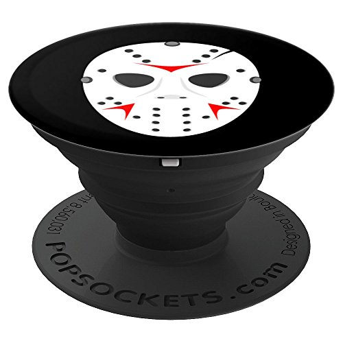 Goalie Mask Horror Movie Killer - PopSockets Grip and Stand for Phones and Tablets