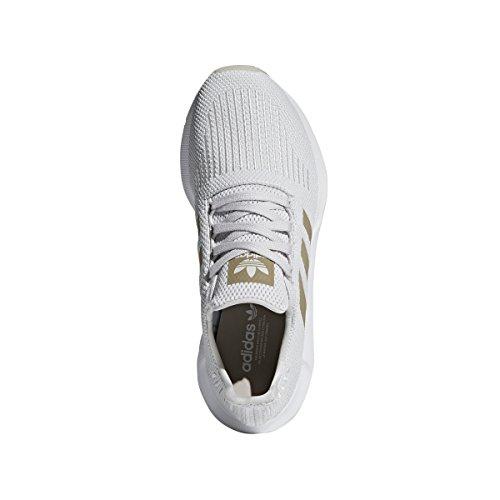 Run Women's One W adidas Swift Met Crystal Fabric Cyber White Grey dxaEPPwZ