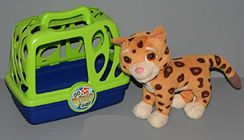 Nick Jr. Go Diego Go! Animal Rescuer Baby Jaguar with Cage