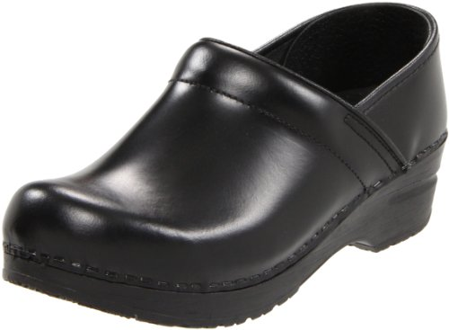 Sanita Women's Professional Narrow Cabrio Clog,Black,38 EU/7.5-8 M US by Sanita