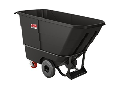 Suncast Commercial Heavy Duty Roto Molded Tilt Truck, .5 cu. yd. by Suncast Commercial