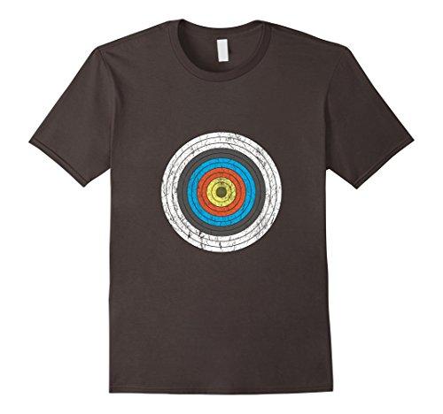 Men's Vintage Archer Archery Target T-Shirt 3XL Asphalt - Target Vintage T-shirt