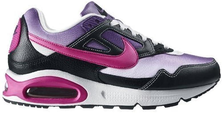 Nike air Max Skyline schue Noir et Violet Cuir et Textile