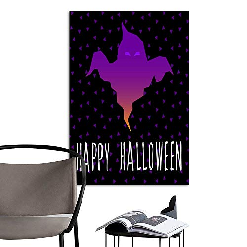 Canvas Wall Art Painting Happy halloween card template