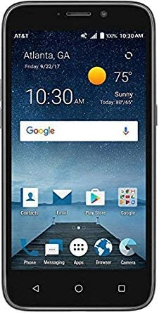 ZTE Maven 3 Z835 | (8GB, 1GB RAM) | 5.0″ Full HD Display | 5MP Rear Camera | 2070 mAh Battery | 4G LTE | GSM Unlocked | Android 7.1 Nougat Smartphone (Black)
