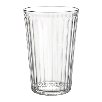 Ikea Gläser ikea vardagen gläser aus klarglas 43cl 6 stück amazon de küche