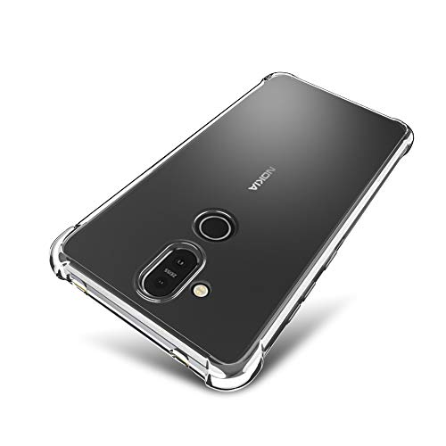 nokia 8.1 clear case