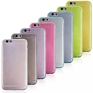 YXF Ultra-thin TPU Case for iPhone 6 (Assorted Colors) , White
