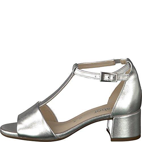Gabor Sandalias de Vestir Para Mujer plata