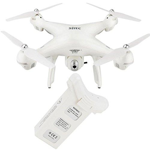 Inverlee Intelligent Lipo Battery 7.4V 2500mAh For Holy Stone HS100 S70W Dorne Quadcopter (White) by Inverlee