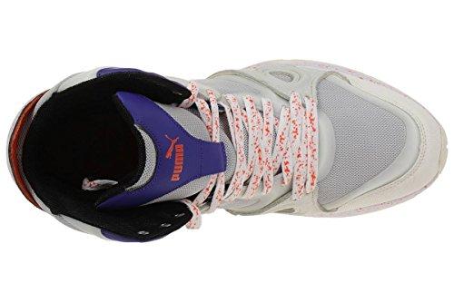 Puma Mcq Tech Runner Mid White Van Alexander Mcqueen Heren Sneaker Wit
