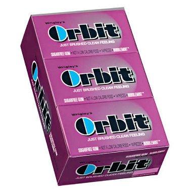 Wrigley's Orbit Bubblemint™ Gum - (2) 12 Ct. -14 Pc. Packs
