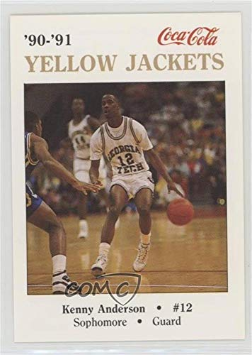 Kenny Anderson (Basketball Card) 1990-91 Coca-Cola Georgia Tech Yellow Jackets Police - [Base] #12.2 1990 Georgia Tech Yellow Jackets