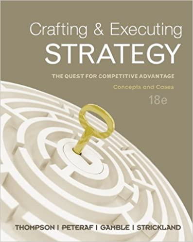 crafting and executing strategy 20th edition pdf free download
