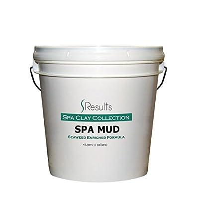 Spa Mud (Seaweed) Body Wrap Detox & Anti-cellulite Slimming Formula - x-large 1 gallon (4 liter)