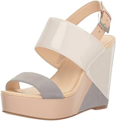 Nine West Women's Dreamz Synthetic Wedge Sandal
