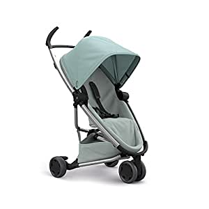 Quinny Zapp Flex Plus Urban Pushchair, Flexible and Compact, Two-Way Reclining Seat, 6 Months to 3.5 Years, Frost on Grey