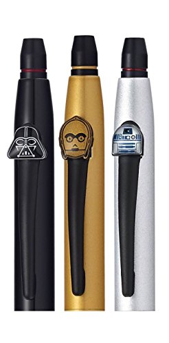 Cross Click Star Wars 3-Pack Gel Ink Pens - Darth Vader, C-3PO, R2-D2 (9857M3) by Cross (Image #2)