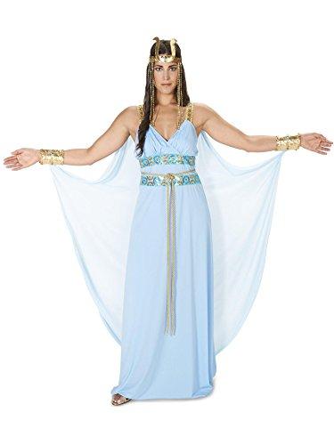 Egyptian Goddess Adult Costume, Blue,