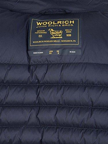 Blu Fibre Sintetiche Cappotto Woolrich Uomo Wocps2377300 O8XwPq
