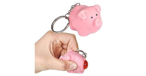 Amazon.com: Ned la Naughty cerdo llavero [Toy]: Office Products