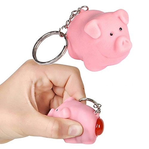 Ned the Naughty Pig Keychain [Toy] by Lofttus -